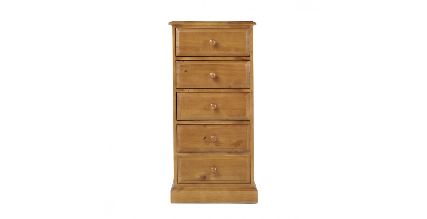 Country Pine 5 Drawer Tall Chest of Drawers. Country Pine 5 Drawer Tall Chest of Drawers   Lifestyle Furniture UK