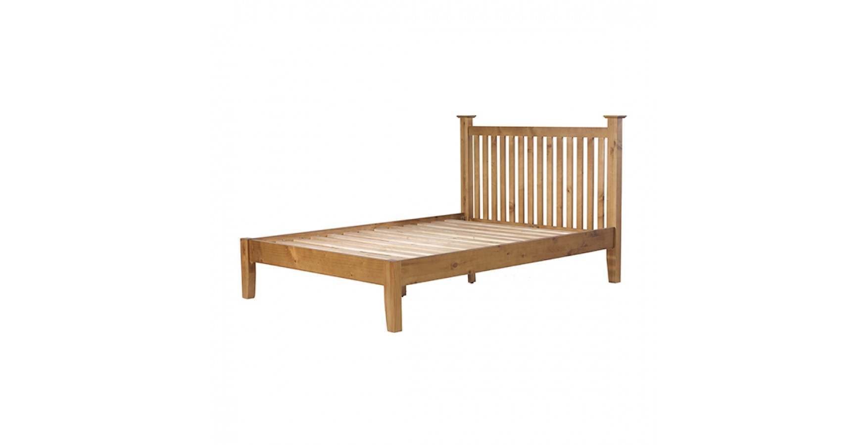 Country Pine Double Bed 4 39 6 Lifestyle Furniture Uk