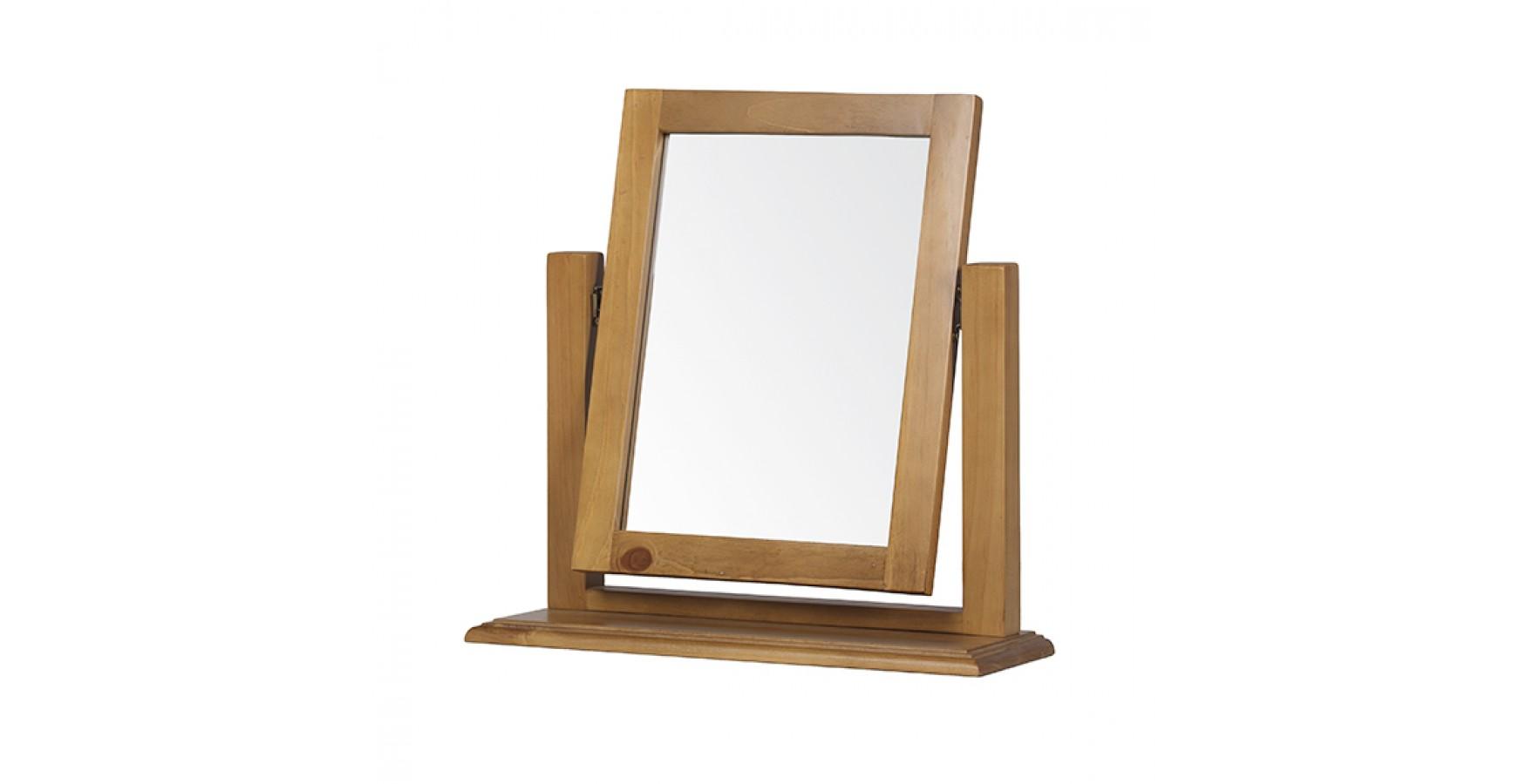 Country pine dressing table vanity mirror lifestyle for Vanity dressing table with mirror