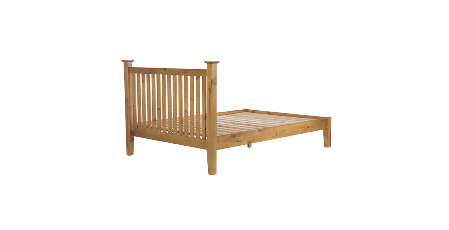 Country Pine King Size Bed 5 39 Lifestyle Furniture Uk