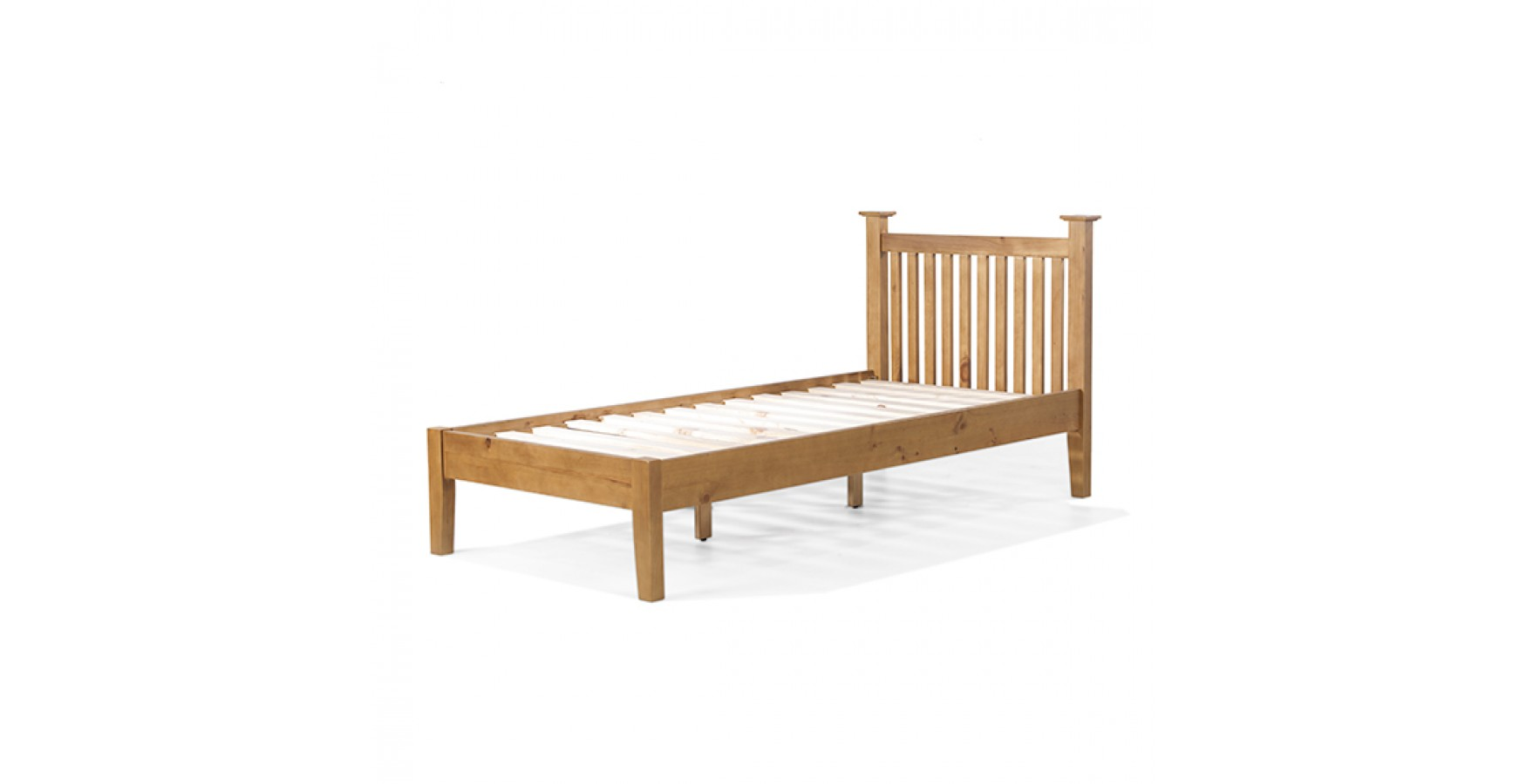 Country Pine Single Bed 3 39 Lifestyle Furniture Uk