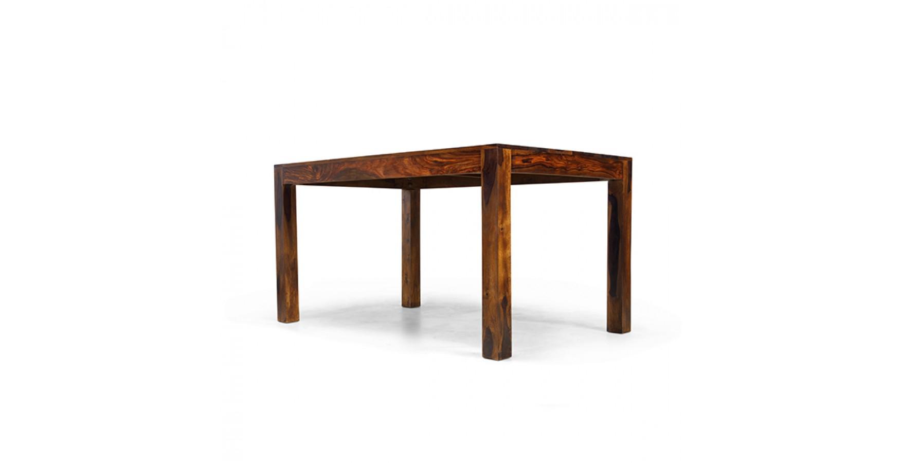 Cuba sheesham 140 cm dining table lifestyle furniture uk for Sheesham dining table