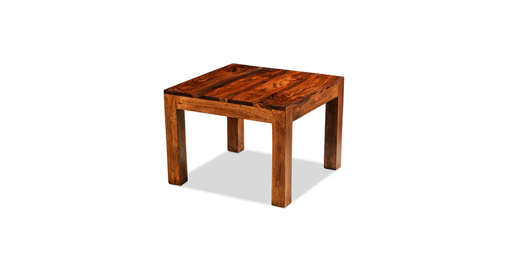 Cuba Sheesham 60 Cm Coffee Table Lifestyle Furniture Uk