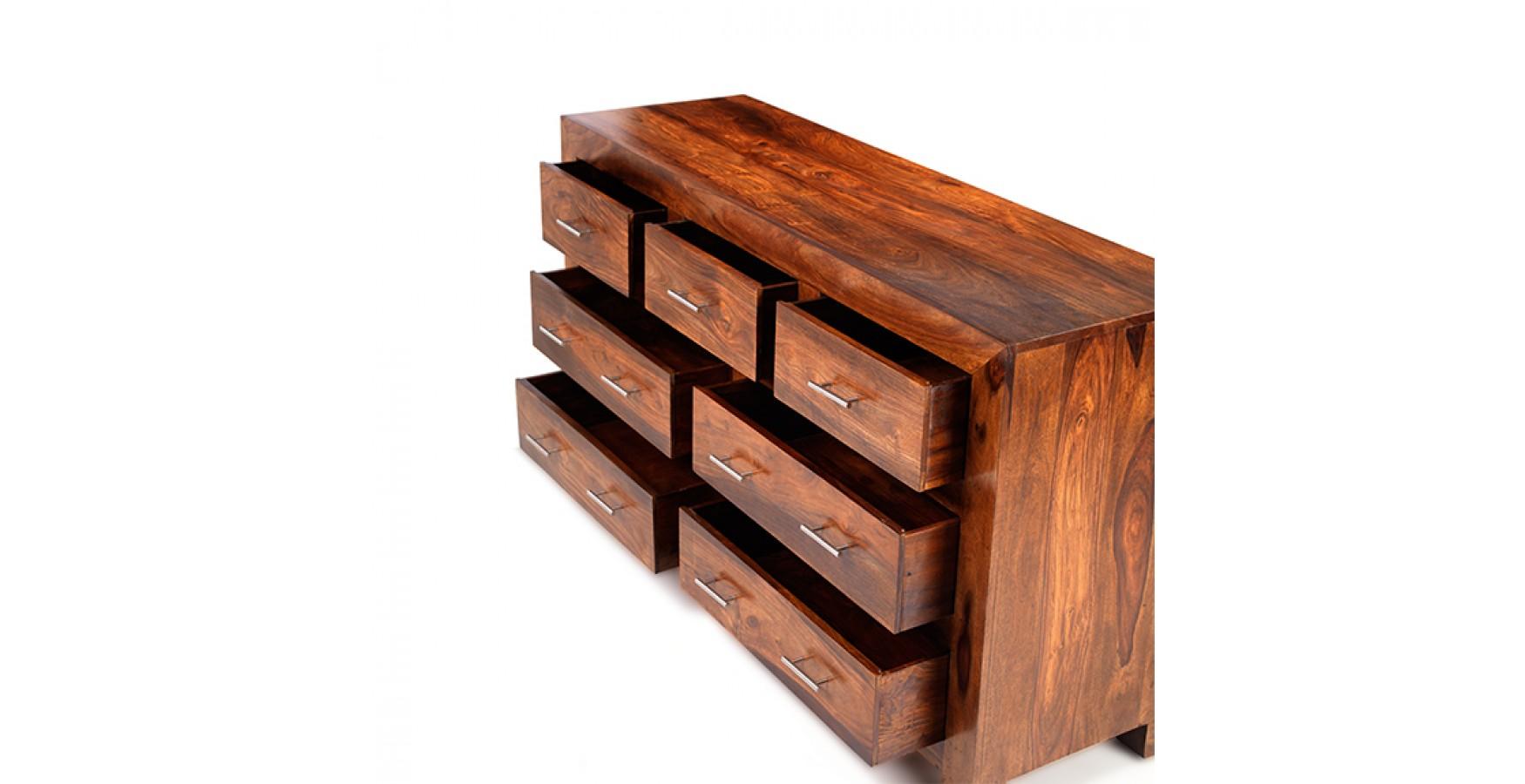 Solid Sheesham Wood Trunk Set