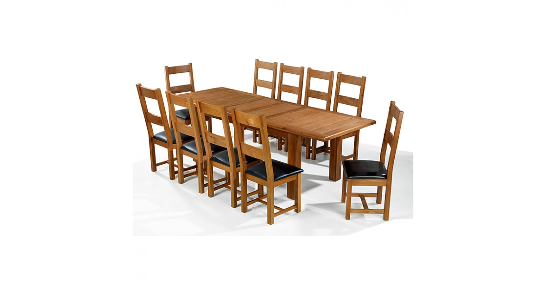 Very Impressive portraiture of oak dining table and chairs picture with #774117 color and 1750x900 pixels