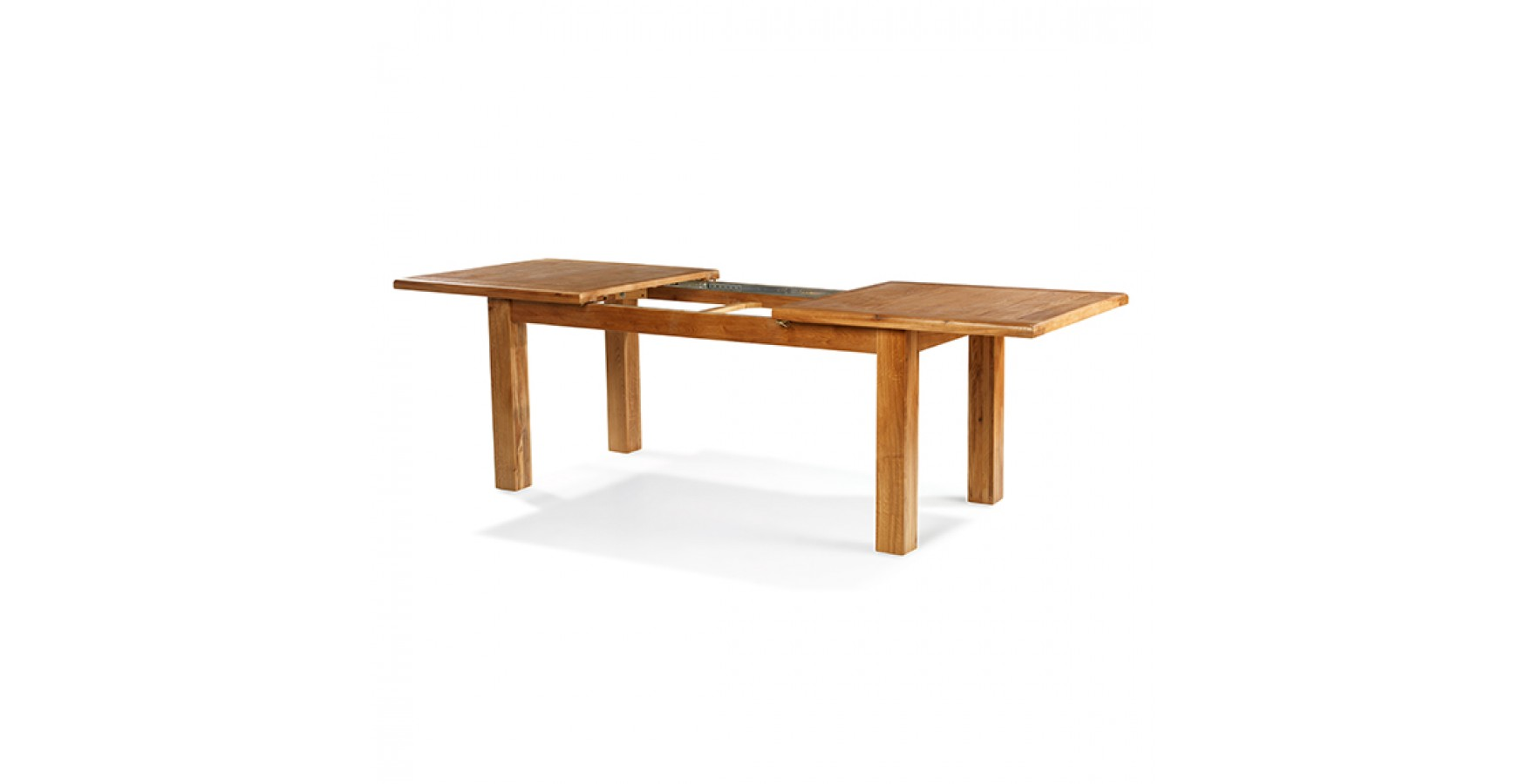 Emsworth Oak 120 150 Cm Extending Dining Table Lifestyle Furniture . Full resolution‎  img, nominally Width 1750 Height 900 pixels, img with #4D1F04.