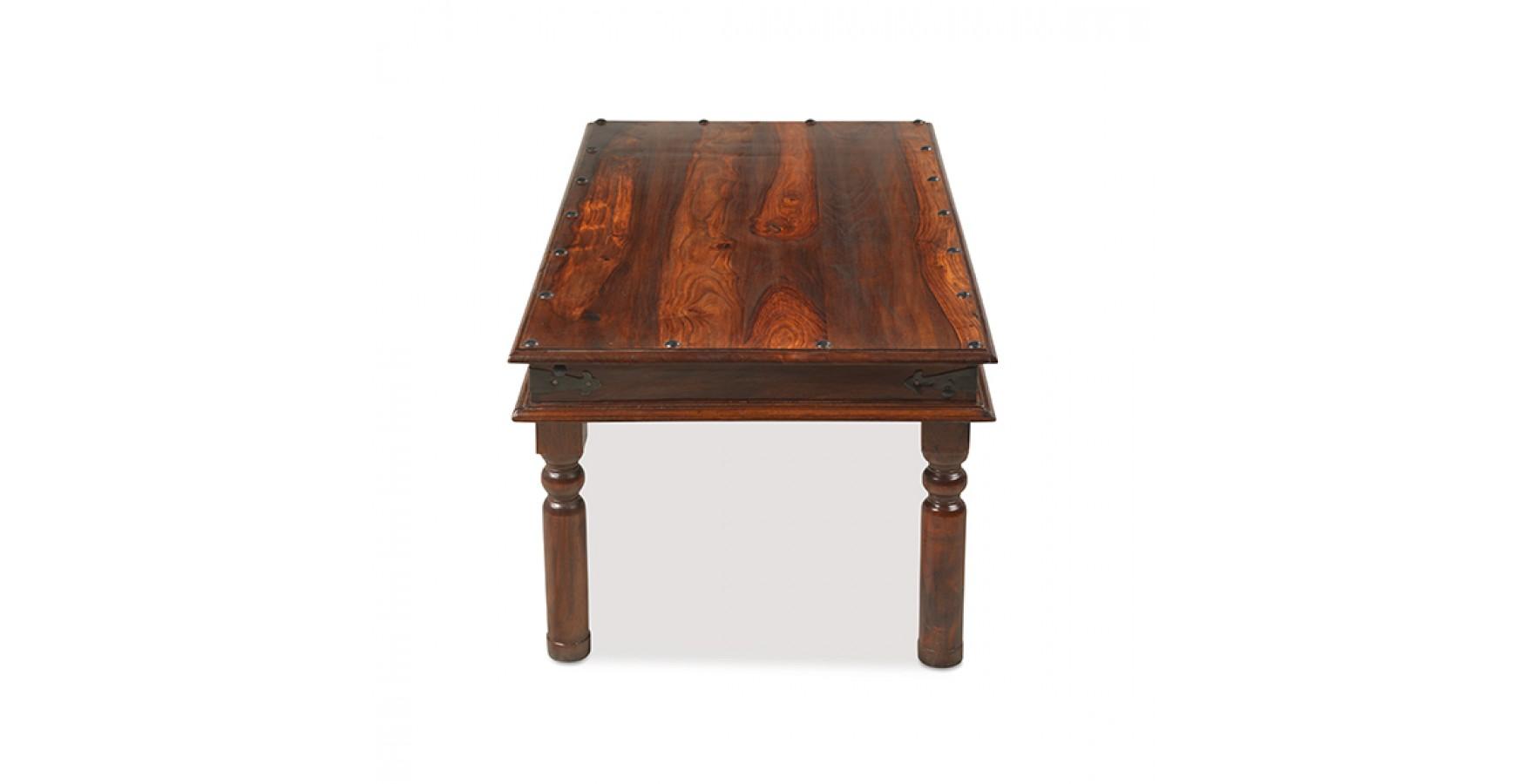 Jali Sheesham 110 cm Thakat Coffee Table Lifestyle Furniture UK