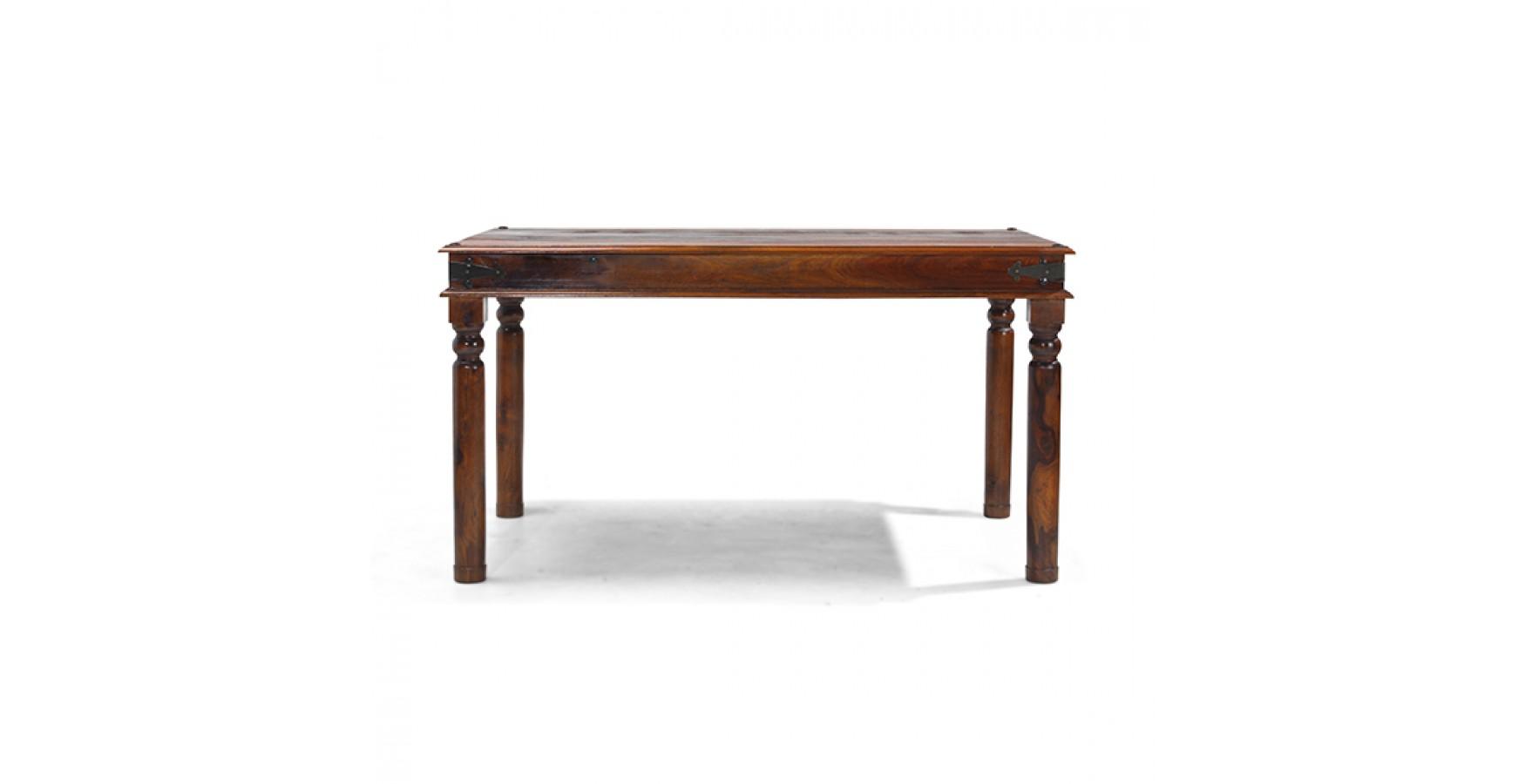 Jali sheesham 120 cm thakat dining table lifestyle for Sheesham dining table
