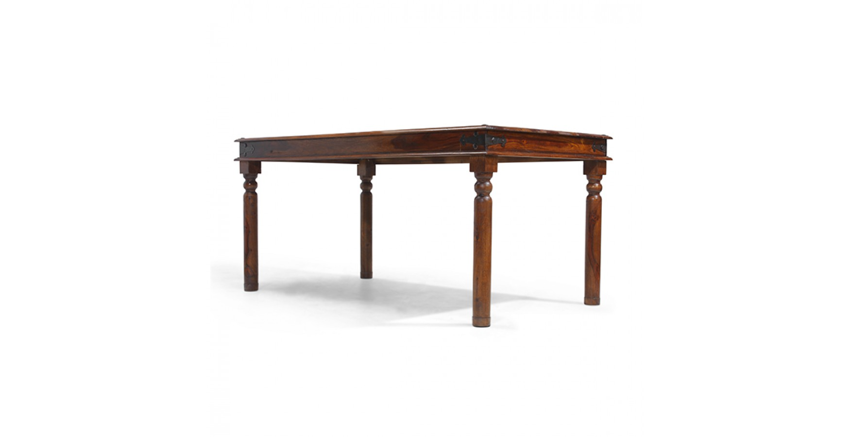 Jali sheesham 160 cm thakat dining table lifestyle for Sheesham dining table