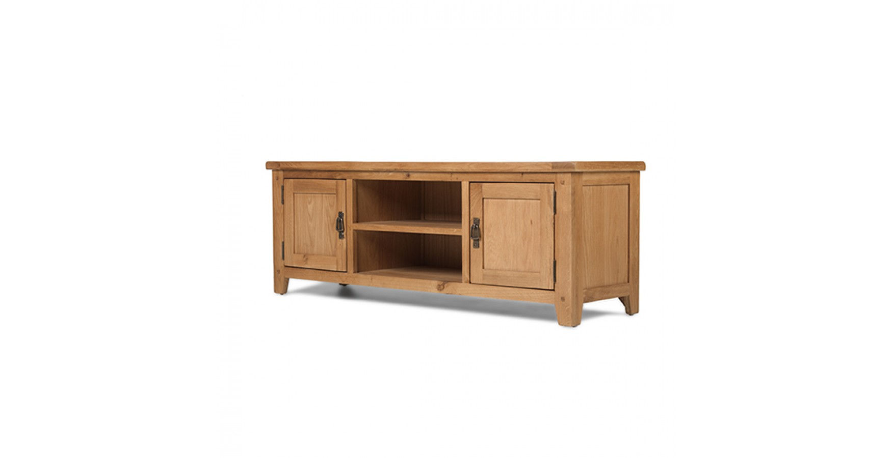 Rustic oak plasma tv stand lifestyle furniture uk Rustic tv stands