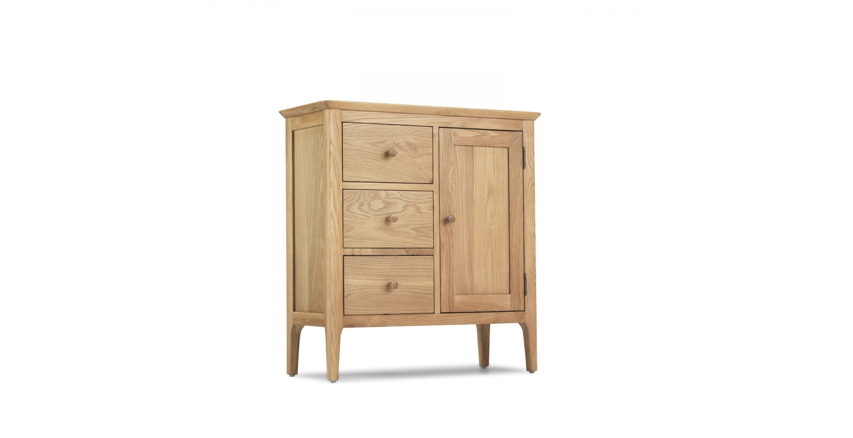 Hall Cupboards Furniture enfield oak hallway cupboard - lifestyle furniture uk