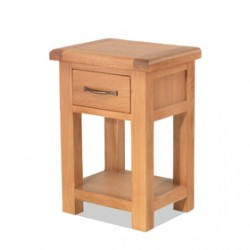 Kingham Oak 1 Drawer Bedside