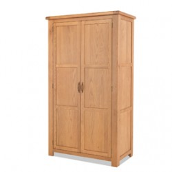 Kingham Oak Full Hanging Wardrobe
