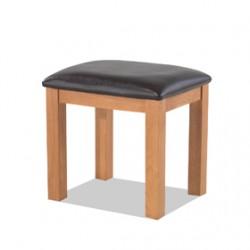 Kingham Oak Dressing Table Stool