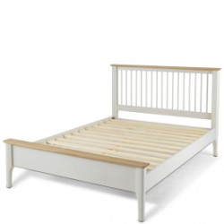 """Mariah Painted Double Bed (4' 6"""")"""