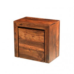 Cuba Sheesham Cube Nest of Tables