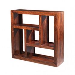 Cuba Sheesham Display Multi Shelf