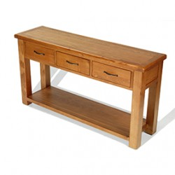 Emsworth Oak Large Console Table