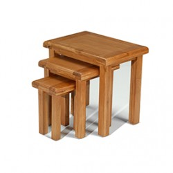 Emsworth Oak Nest of 3 Tables