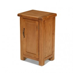 Emsworth Oak Petite 1 Door Cabinet