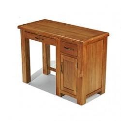 Emsworth Oak Single Pedestal Computer Desk