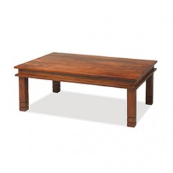 Jali Sheesham 120 cm Chunky Coffee Table