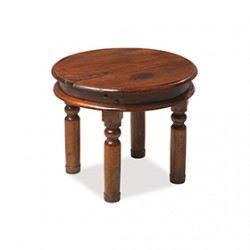 Jali Sheesham 55 cm Round Thakat Coffee Table