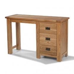 Rustic Oak Dressing Table