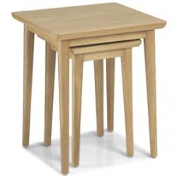 Skioa Oak Nest Of 2 Table