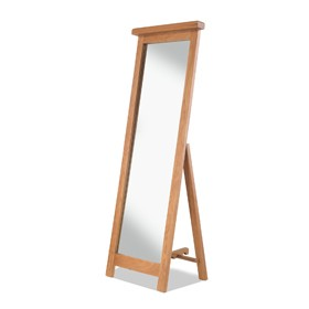 Kingham Oak Cheval Mirror