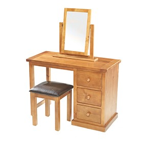 Chunky Pine Dressing Table Set