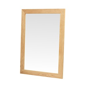 Cuba Oak Large Mirror