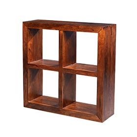 Cuba Sheesham 4 Hole Cube
