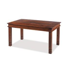Jali Sheesham 140 cm Chunky Dining Table