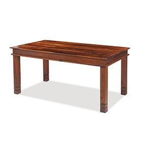 Jali Sheesham 160 cm Chunky Dining Table
