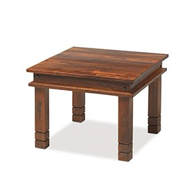 Jali Sheesham 60 cm Chunky Coffee Table