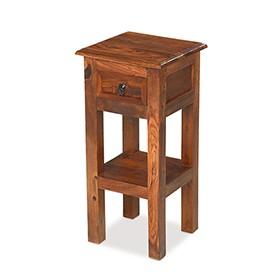 Jali Sheesham Lamp Telephone Table