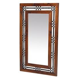Jali Sheesham Tall Mirror