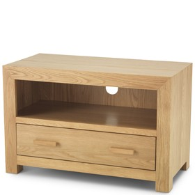 Cuba Oak Small TV Unit