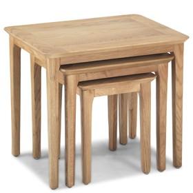 Enfield Oak Nest of 3 Tables