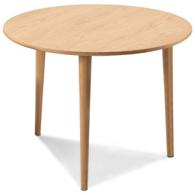 Skioa Oak Circular Dining  Table