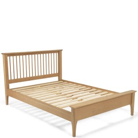 Danbury Oak 5ft King Size  Bed