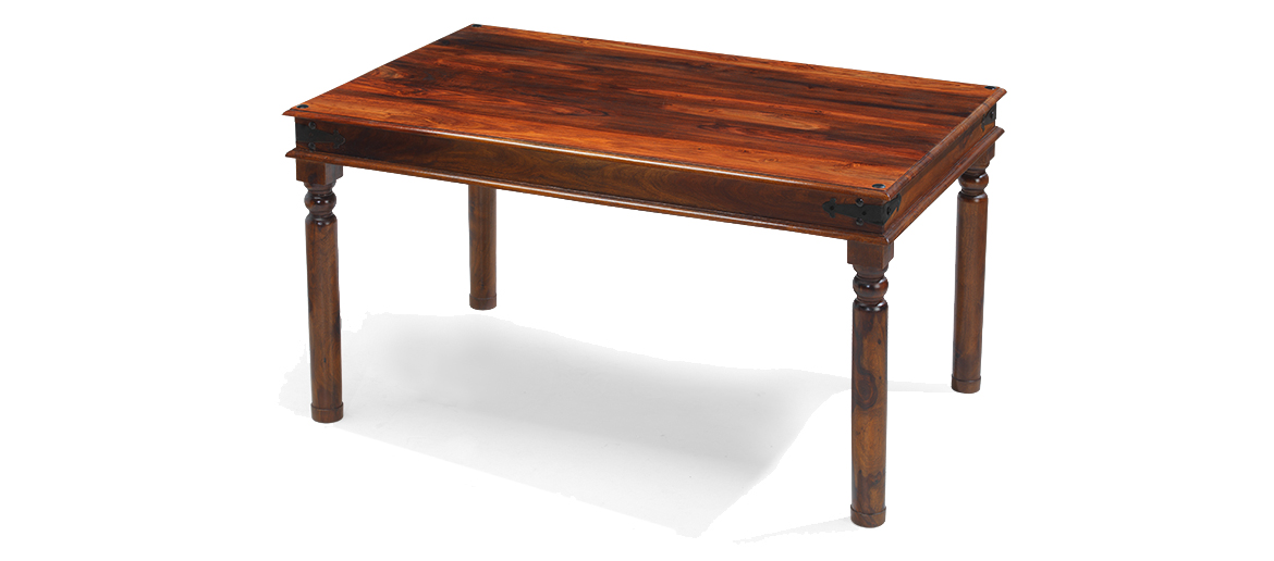 01254 694698 : jali sheesham thakat dining table 120 sh 11 angle from www.quercusliving.co.uk size 1170 x 516 jpeg 210kB