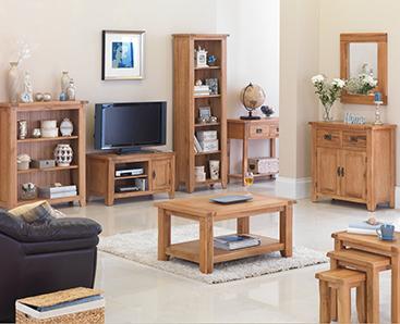 Living Room Oak Furniture