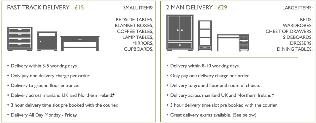 Delivery Service Lifestyle Furniture