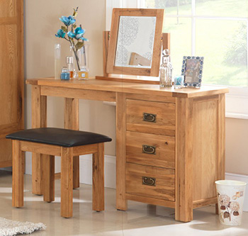 Oak Dressing Table Sets