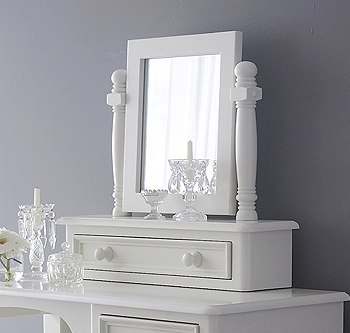 Painted Dressing Table Vanity Mirrors