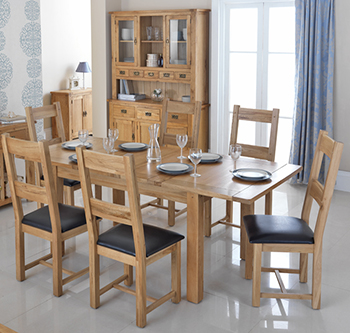 Rustic Oak Furniture Range