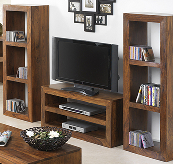 Sheesham Wood Furniture CD & DVD Units