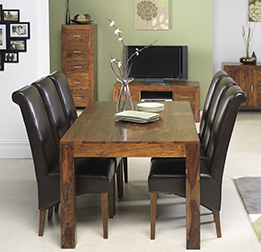 Cuba Sheesham Dining Room Ranges